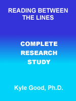 Reading Between the Lines Complete Research Study by Dr. Kyle Good, Ph.D., M.Ed., LMHC Honolulu Hawaii 96813