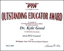 Area Parent-Teacher-Association Council Outstanding Educator of the Year Honolulu Hawaii 96813